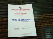 Členský preukaz FS Dúbravček
